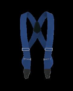 "2"" X-Back Trucker Button-On Suspender with Navy Blue Webbing"